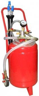 Установка для вакуумной откачки масла G.I.KRAFT 24 л (B24V)