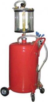 Установка для вакуумной откачки масла с мерной колбой G.I.KRAFT 80 л (B8010KV)