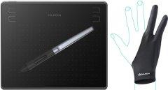 Графический планшет Huion HS64 с перчаткой