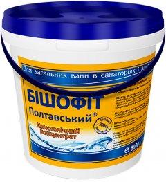 Средство для ванн Bisheffect Бишофит Полтавский Кристаллический концентрат 5000 мл (4820169900418)
