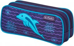 Пенал Herlitz Double Dolphin Дельфин (50026395D)