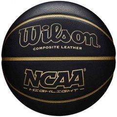 Мяч баскетбольный Wilson NCAA Hightlight 295 Size 7 Black (WTB067519XB07)