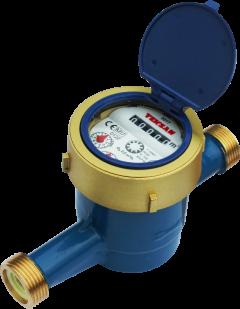 Счетчик холодной воды TEKSAN BR32-260 Q3:10 R160 T50 P/O многоструйный