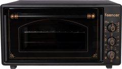 Электрическая печь SENCER MF 46E24 Matt Black Rustic