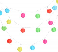 Декоративная гирлянда Home & Styling Collection 10.75 м разноцветная (C46293330)