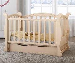 Детская кроватка Angelo Lux-6 Кремовый (11015)