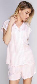 Блуза + шорты Anil 9593 XL Пудра (ROZ6205093257)