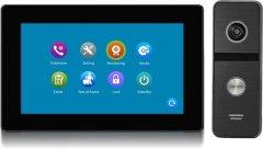 Комплект видеодомофона CoVi Security TAB FHD Black + Iron FHD Black