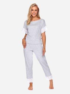 Пижама Dobranocka PM.4104 S Grey Melange (5902701155162)
