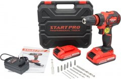 Шуруповерт аккумуляторный Start PRO SCD2-18/2BD Brushless
