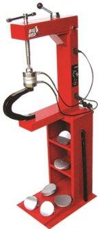 Вулканизатор Torin с винтовым прижимом, на стойке, 2 нагревательные пластины, комплект прижимов (6 форм) (TRAD004)