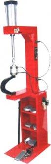 Вулканизатор Torin с пневматическим прижимом, на стойке, 2 нагревательные пластины, комплект прижимов (6 форм) (TRAD004Q)