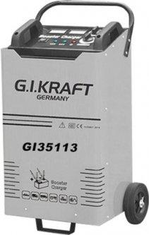Пуско-зарядное устройство G.I.KRAFT 12/24В, пусковой ток 1500A, 380В (GI35113)