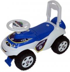 Чудомобиль Active Baby Police Бело-синий (013117-0101)