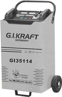 Пуско-зарядное устройство G.I.KRAFT 12/24В, пусковой ток 1800A, 380В (GI35114)