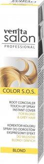 Корректор мгновенный цвета корней Venita Salon Color S.O.S для светлых и седых волос Blond 75 мл (5902101518468)