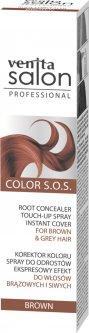 Корректор мгновенный цвета корней Venita Salon Color S.O.S для каштановых и седых волос Brown 75 мл (5902101518475)