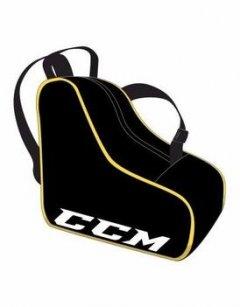 "Сумка CCM для коньков Skate Bag B/Y, Размер 15,5""x12""x8.5"", черный/желтый, CCMSKATEBAG-B-Y"