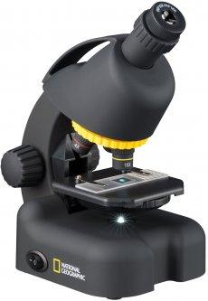Микроскоп National Geographic 40x-640x с адаптером для смартфона (9119501)
