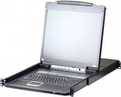 KVM-переключатель ATEN CL5716IM-ATA-RG 16-портовый PS/2-USB