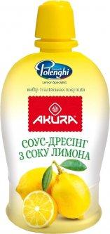 Соус дрессинг Akura с соком лимона 200 мл (8031301885975)