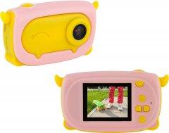 Цифровой детский фотоаппарат Atrix Tiktoker 9 20 Mp 1080p Pink (cdfatxtt9p)