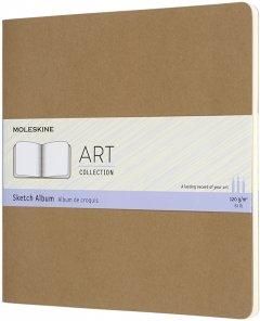 Скетчбук Moleskine Art Cahier для Рисования 19 х 19 см 88 страниц без линовки Беж (8058647626796)