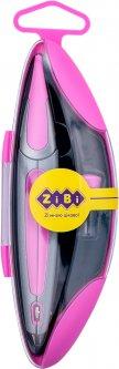 Циркуль ZiBi Start Ergo в футляре с запасным грифелем Розовый (ZB.5350ES-10)
