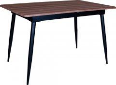 Стол обеденный Eagle Silent 75 х 75 x 120 - 160 см Black/Deep Red (E3667)