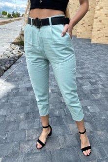 Модні жіночі джинси Lurex бірюзовий (XL)