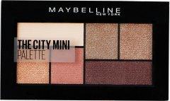 Палитра теней для век Maybelline New York The City Kits Mini 410 Нюдовые оттенки 6 г (3600531539313)