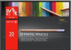 Набор пастельних сухих карандашей Caran d'Ache Artist картонный бокс 20 цветов (7630002324670)