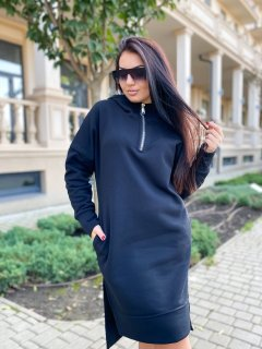 Платье-худи DNKA р15384/1 54-56 Черное (2000000517308)