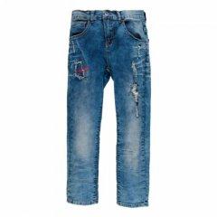 Джинси для хлопчика. MEK 181MHBF002-149 122 см синій