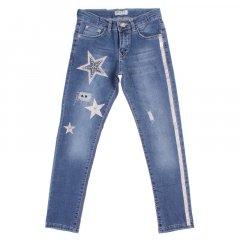 Штани джинсові для дівчинки BREEZE 20159 164 см синій (172967)