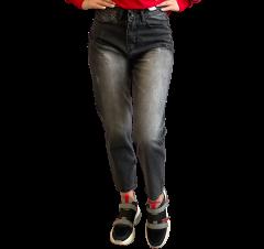 Джинси жіночі MOM 2790 сірий L