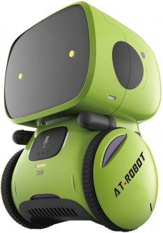 Интерактивный робот AT-Robot с голосовым управлением Зеленый (AT001-02-UKR)