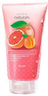 Скраб для тела Avon Средиземноморские приключения с ароматом розового грейпфрута и абрикоса 150 мл (66016)(ROZ6400102229)