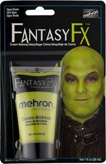 Грим на водной основе Mehron Fantasy FX Ogre Green 30 мл (FFX-OG) (764294501444)