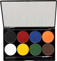 Палитра аквагрима Mehron Paradise Makeup AQ Basic 8 цветов по 7 г (808-PAL-B) (764294582993)