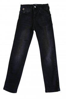 Джинси A-yugi Jeans 146 см Чорний (2125000689111)