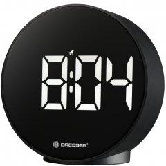 Настольные часы Bresser MyTime Echo FXR Black (8010071CM3WHI)