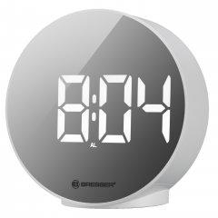 Настольные часы Bresser MyTime Echo FXR White (8010071GYEWHI)