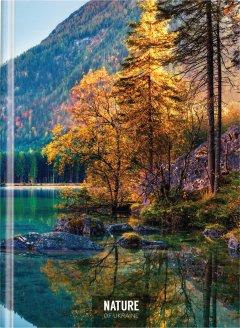 Блокнот Optima Nature of Ukraine Озеро А4 в клетку 96 листов (O20378-11)