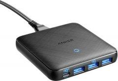 Сетевое зарядное устройство Anker PowerPort Atom III Slim 4 - 65W 3&1xUSB-C PIQ3.0 Black (A2045G11)