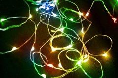 Светодиодная гирлянда Scorpio 100L 10 м Разноцветный (756934) (4820007569340)