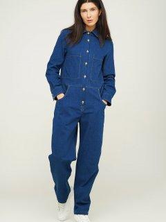 Комбінезон джинсовий ANNA YAKOVENKO 3103 XXS Синій (ROZ6400031553)