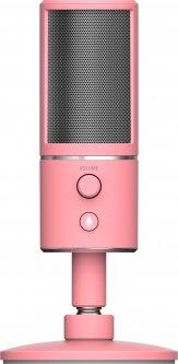 Микрофон Razer Seiren X Quartz Edition (RZ19-02290300-R3M1)