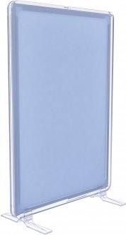 Рамка с карманом-протектором Европос А4 на підставке 90 градусов 2/BASE-90+ PFPP-А4, Прозрачный (P1003/00)