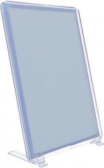 Рамка с карманом-протектором Европос А5 на подставке 75 градусов 2/BASE-75+PFPP-А5, Прозрачный (P1004/00)